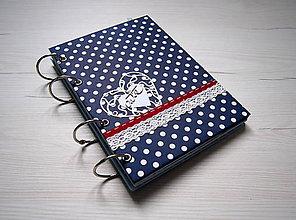Papiernictvo - Riadkovaný zápisník Cute, A5 - 8982869_