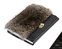 Kožený zápisník / karisblok MARIMA - čierny, A5