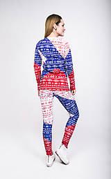 Nohavice - Tricolora Čičmany - termo oblečenie - 8981578_