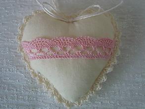 Darčeky pre svadobčanov - Svadobné srdiečko (Béžová) - 8980289_