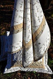 Úžitkový textil - Obrus - jemná výšivka - 8983911_