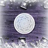 Pomôcky - Podšálka nežná snehová vločka 1  - 8980364_
