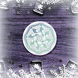 Pomôcky - Podšálka nežná snehová vločka 3 - 8983521_