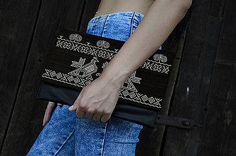 Kabelky - DREVENÁ KABELKA ČIČMANY - 8987744_