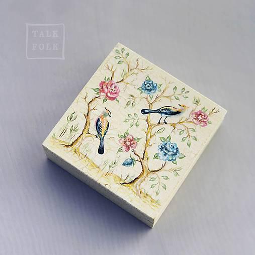Ručne maľovaná šperkovnica