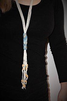 """Náhrdelníky - náhrdelník """"kravatník"""" - 8987142_"""