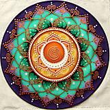 Dekorácie - Mandala liečenia a kolobehu tvorenia - 8984617_