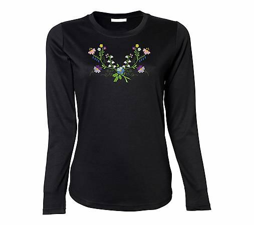6f875057a668 Luxusné dámske tričko s dlhým rukávom