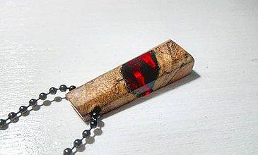 Náhrdelníky - Červený šperk - 8984354_