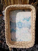 Košíky - snehová kráľovná - 8985235_