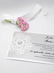 Papiernictvo - svadobné oznámenie 113 - 8985823_