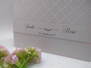 Papiernictvo - svadobné oznámenie 180 - 8985958_