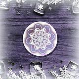 Pomôcky - Podšálka nežná snehová vločka 5 - 8986964_