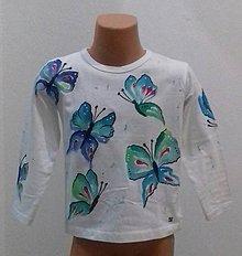 Tričká - D - motýle - 8984214_