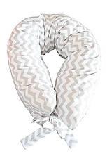 Úžitkový textil - _HAJA ÓČKO & Cik Cak WHiTe & GRey 200 cm - 8990401_