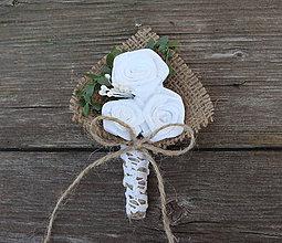 Pierka - Svadobné pierko pre ženícha, svedkov, rodičov - 8990760_