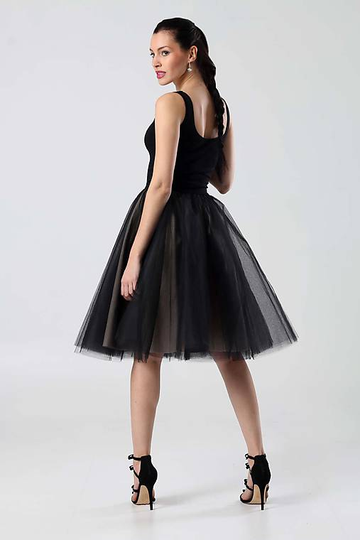 176c5466977c Čierne s tylovou sukňou (38)   ZuzanaZachar - SAShE.sk - Handmade Šaty