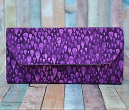 Peňaženky - Peněženka - Purple rain - 8988645_