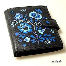 Peňaženky - Modrý folk - 8991900_