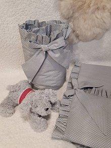 Textil - Zástena  s fodorou -  hniezdo okolo postieľky - 8989402_
