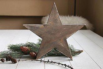 Nábytok - Dekorácia hviezda - 8988564_