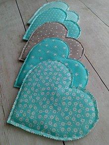 Úžitkový textil - Pekné *srdiečka* - 8990969_