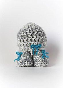 Detské čiapky - ...súpravička BABY BOY - 8990908_