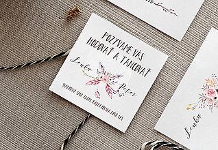 Papier - Pozvánka k svadobnému stolu IV. - 8988359_
