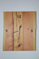 Hodiny - Drevené hodiny Douglas - 8990596_