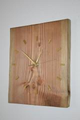 Hodiny - Drevené hodiny Zlatý Smrek - 8990649_