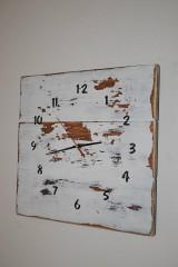 Hodiny - Drevené hodiny Vintage - 8990777_