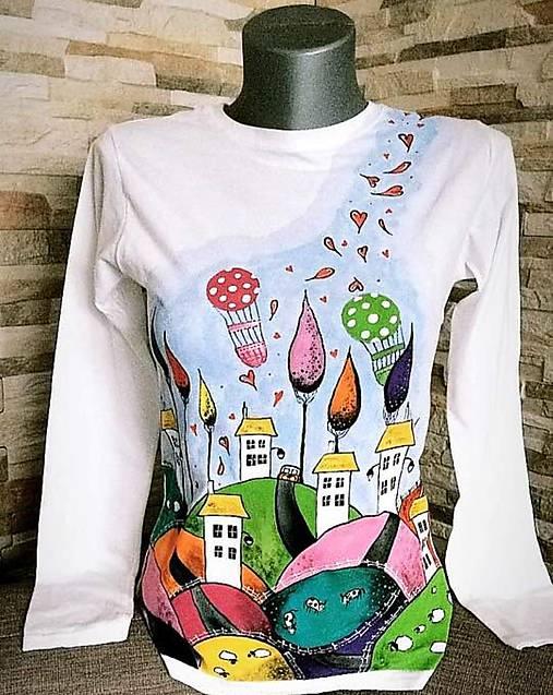 4f11705eb214 Čarovná krajina - dámske tričko   Stanus.g - SAShE.sk - Handmade Tričká