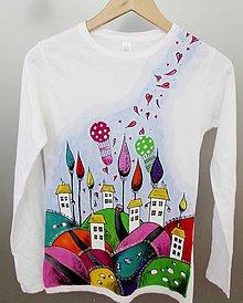 Tričká - Čarovná krajina - dámske tričko - 8990083_
