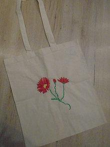 Nákupné tašky - Stužkou vyšívaná taška - 8988024_