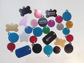 Pre zvieratká - kovová známka - 8991431_