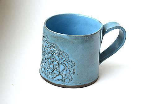 Čipkovaný pohár (Tyrkysová)