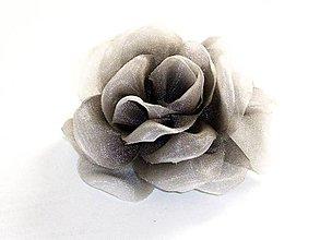 Ozdoby do vlasov - Ruža do vlasov - 8989536_