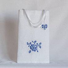 Úžitkový textil - Darčeková taštička II - 8990966_