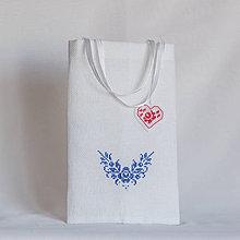 Úžitkový textil - Darčeková taštička III - 8990970_
