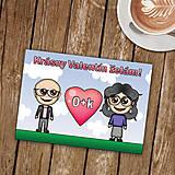 Papiernictvo - Personalizovaná valentínka - 8989640_