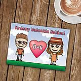 Papiernictvo - Personalizovaná valentínka - 8990252_