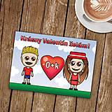 Papiernictvo - Personalizovaná valentínka - 8991109_