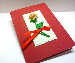 Papiernictvo - Pohľadnica ... Si mojim kvetom II - 8994854_