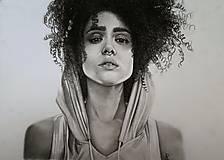 Kresby - Portrét - Nathalie Emmanuel - 8994737_