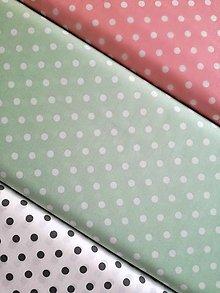 Textil - Bavlnená látka bodky - 8993482_