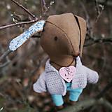 Bábiky - psík, čo nosí kľúčik k srdcu - 8995593_