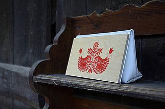 Kabelky - DREVENÁ KABELKA MINI - 8995632_