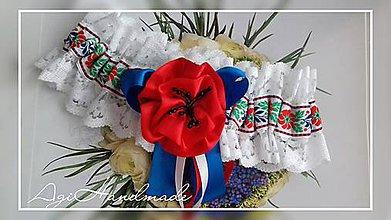 Bielizeň/Plavky - svadobný podväzok - 8993615_