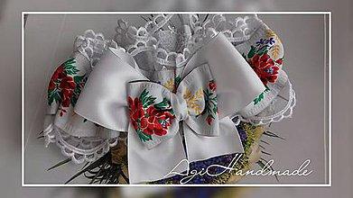 Bielizeň/Plavky - svadobný podväzok - 8993692_