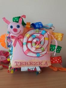 Hračky - Látková kocka na hranie Terezka - 8994012_
